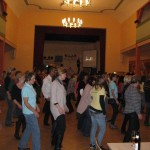 Choreografie im Saal